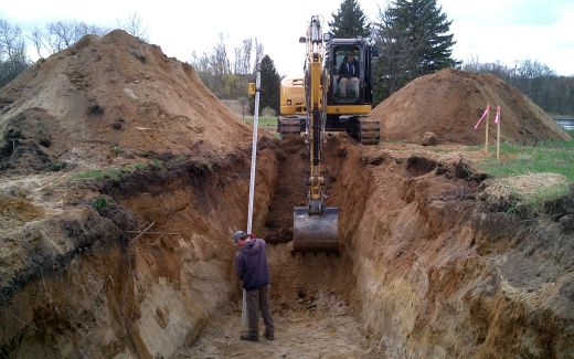 Excavating crawlspace