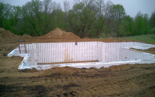 Backfilled and compacted
