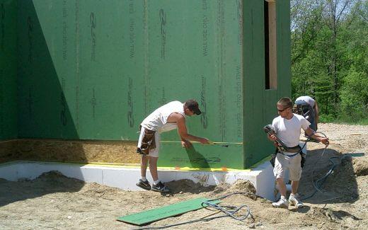 Sealing walls