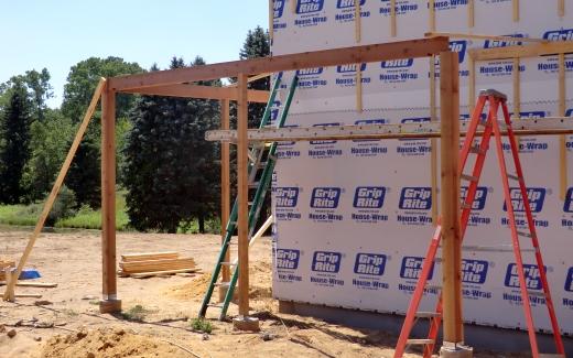 Porch frame