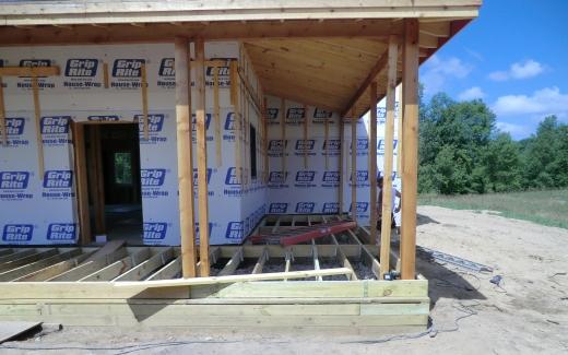 Porch work