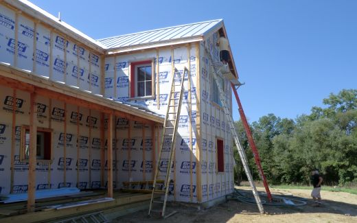 Eave insulation