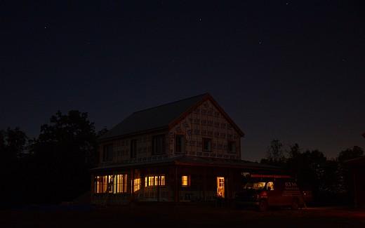 Home site in da moonlight