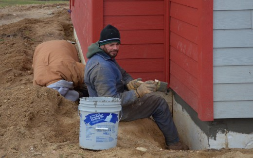 Preparing foundation surface