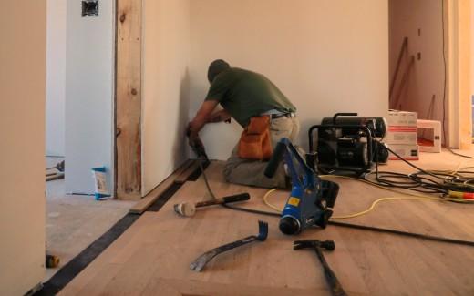Flooring upstairs hallway