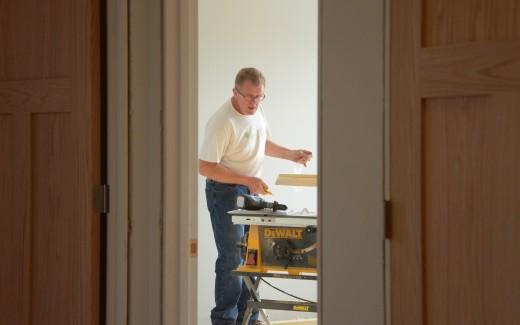 Michael Klinger and oak doors