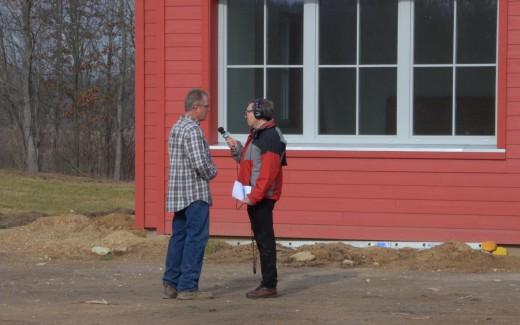 Mark Bashore interviewing Michael Klinger