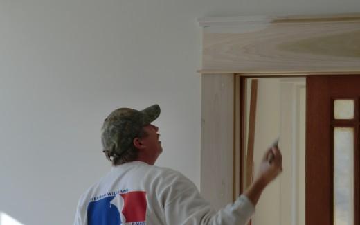 Johann priming door casing