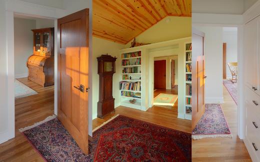 Various upstairs rooms